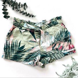 Tropical Linen Guess Shorts
